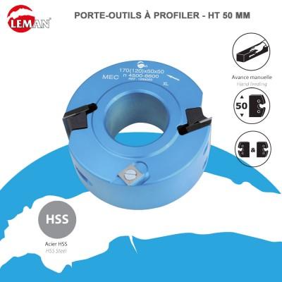 Porte outils profiler Ht 50 mm