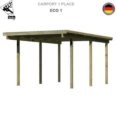 Carport  1 voiture  Eco 1