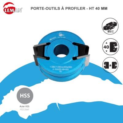 Porte outils à profiler Ht 40 mm