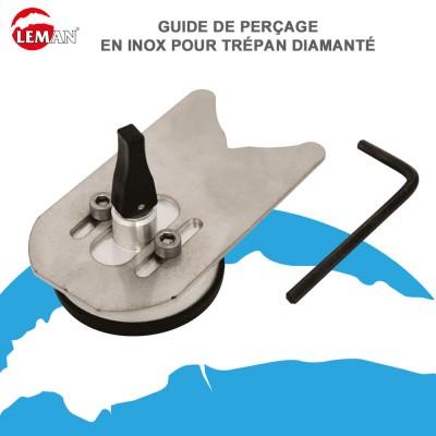 Guide de perçage pour trépan diamanté