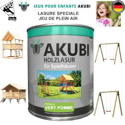Peinture aire de jeux Akubi vert pomme 750 ml