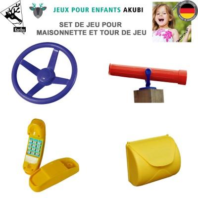 Kit de jeux pour aire de jeux