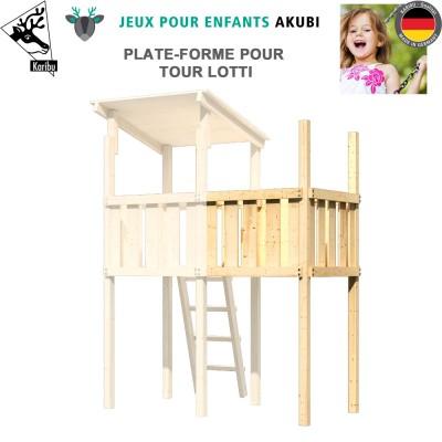 Extension plate-forme aire de jeux Lotti