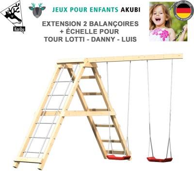 Extension double balançoire aire de jeux Lotti