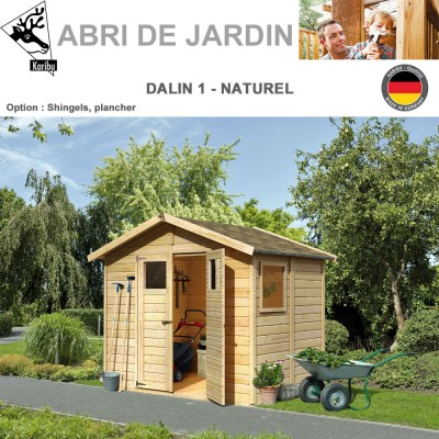 abri de jardin bois combloux 12 mm brut avec plancher 570 00. Black Bedroom Furniture Sets. Home Design Ideas