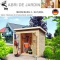 Abri de Jardin Merseburg 3 - 14mm 3.26 m²