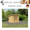 Abri de Jardin Merseburg 4 - 14mm