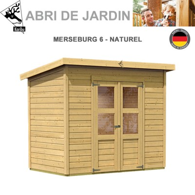 Abri de Jardin Merseburg 6 - 14mm