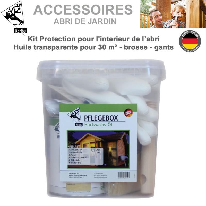Kit de protection pour l 39 int rieur abri de jardin bois - Protection toit abri de jardin ...