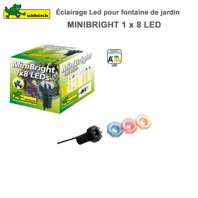 Eclairage LED sans transforamateur MiniBright 1 x 8 LEDs
