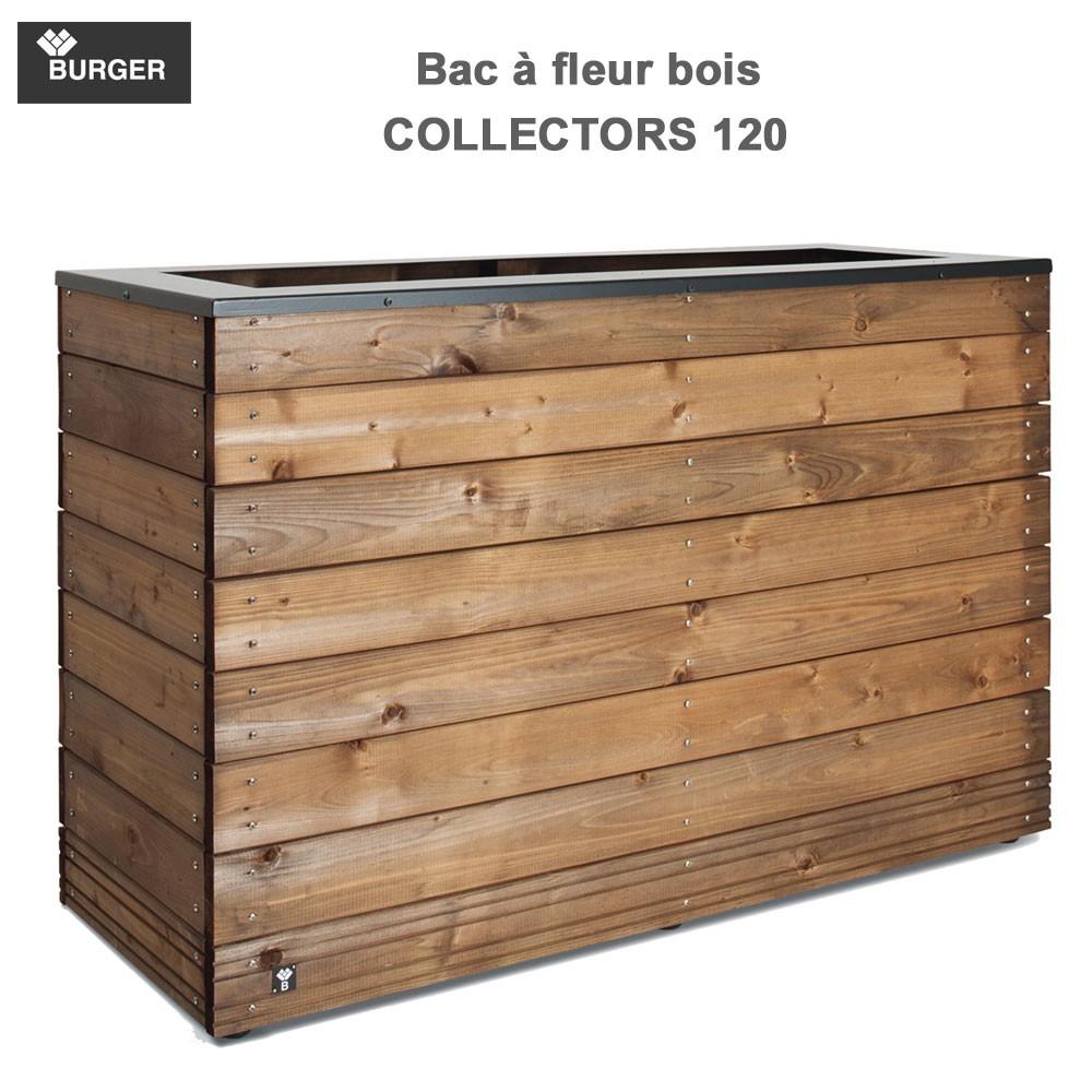 bac fleur en bois collectors 45 x 120 x 74 cm 0281498. Black Bedroom Furniture Sets. Home Design Ideas