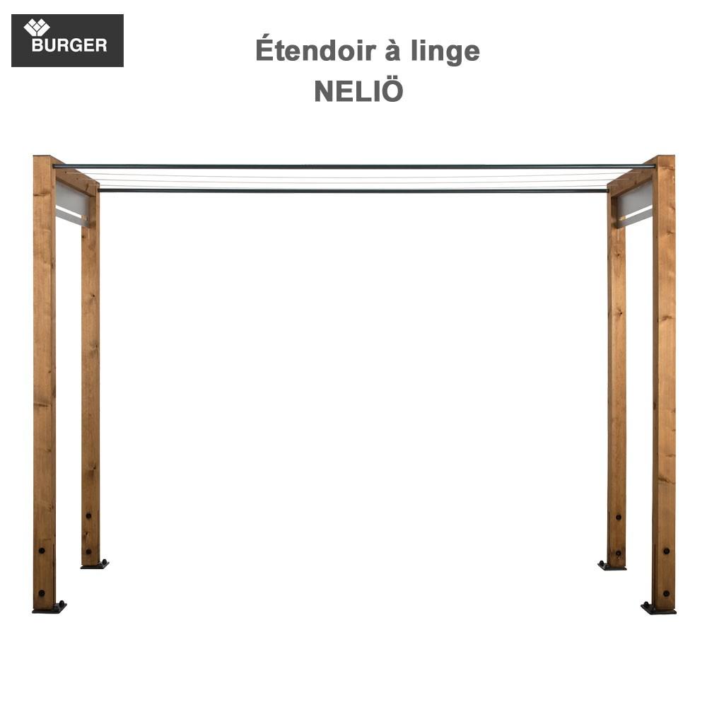 Etendoir Linge Exterieur Beton