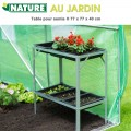 Table de jardinage semis H 77 cm
