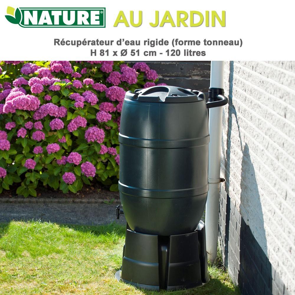 r cup rateur d 39 eau de pluie 120 l. Black Bedroom Furniture Sets. Home Design Ideas