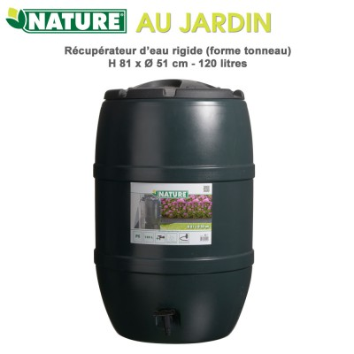Récupérateur d'eau de pluie - 120 L