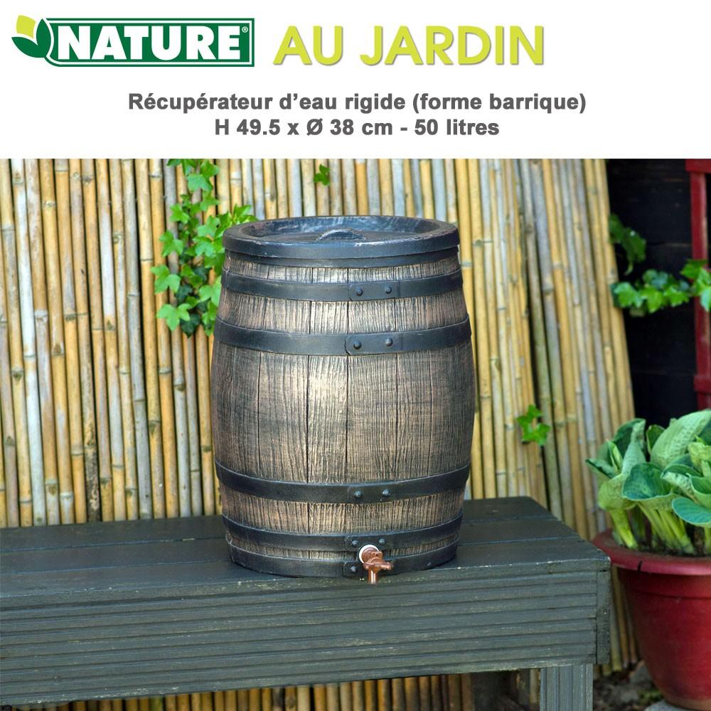 r cup rateur d 39 eau de pluie barique 50 l. Black Bedroom Furniture Sets. Home Design Ideas