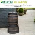 Pied rehausse récupérateur d'eau de pluie barique 50 L