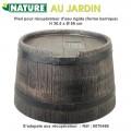 Pied rehausse récupérateur d'eau de pluie barique 120 L