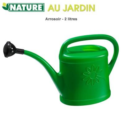 Arrosoir polyéthylène 2 litres