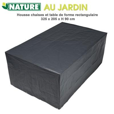 Housse de protection table rectangulaire 325 x 205 cm x H 90 cm