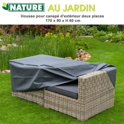 Housse protection canapé d'exterieur 170 x 90 x H 60 cm