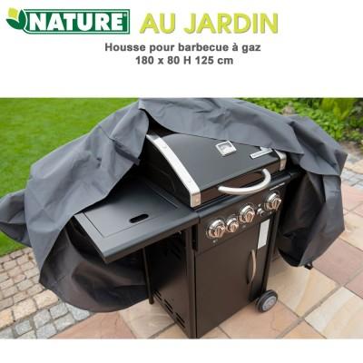 Housse protection pour babecue gaz 180 x 80 x H 125 cm
