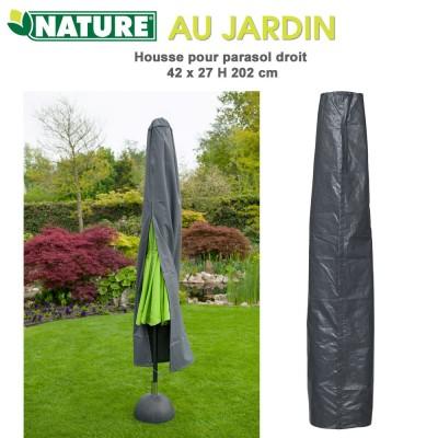 Housse protection pour parasol droit 27/42 x H 202 cm