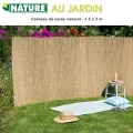 Brise vue naturel en carex 1.2 x 3 m