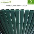 Canisse PVC vert double face 1.50 x 3 m