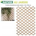 Treillis en bois naturel extensibles 50 x 100 cm