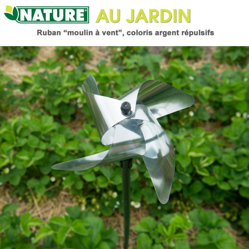 ruban r pulsif anti oiseaux et nuisible moulin vent 6060144 nature. Black Bedroom Furniture Sets. Home Design Ideas