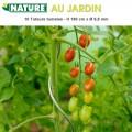 Tuteurs à tomates acier galvanisé - H 180 cm - 10 pces