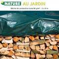 Bâche à bois polyétylène 90 gr/m² - 2 x 8 m