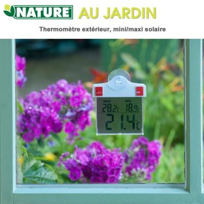 Thermomètre extérieur, mini/maxi