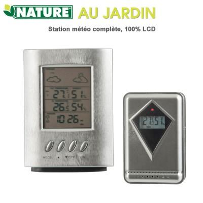 Station météo complète 100% LCD
