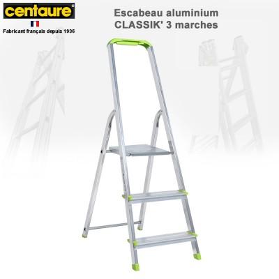 Escabeau aluminium Classik de 3 à 7 marches