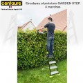 Escabeau aluminium Garden Step de 5 à 7 marches