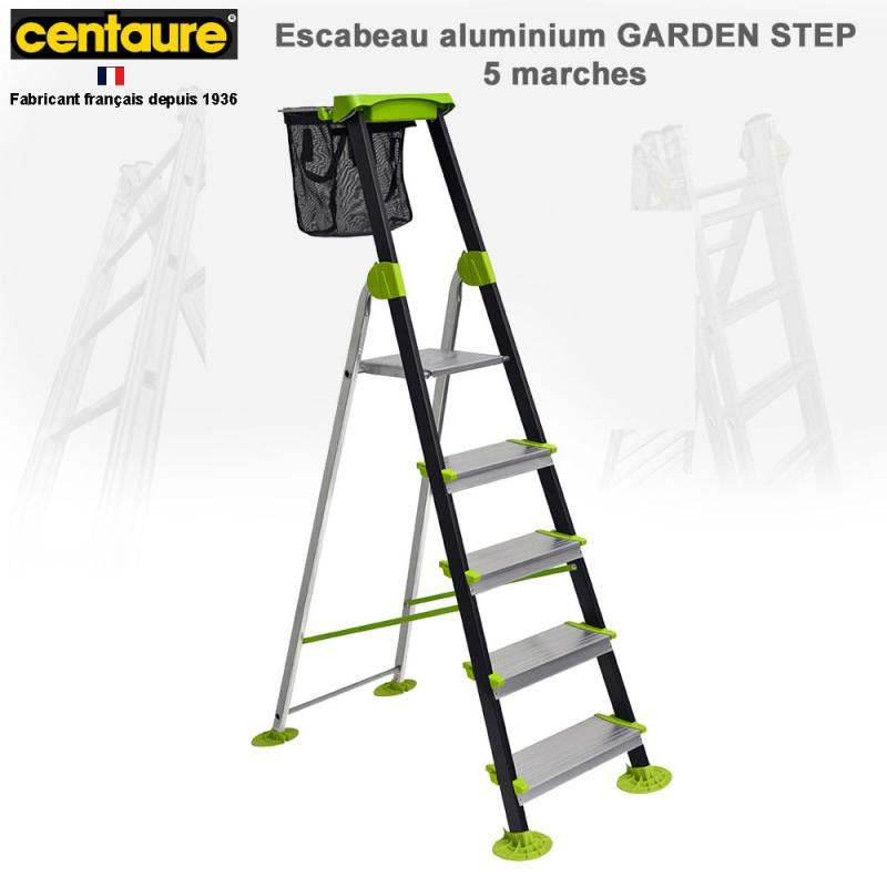 escabeau garden step