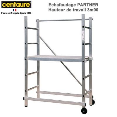 Echafaudage domestique aluminium Partner