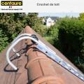 Crochet de toit pour échelle