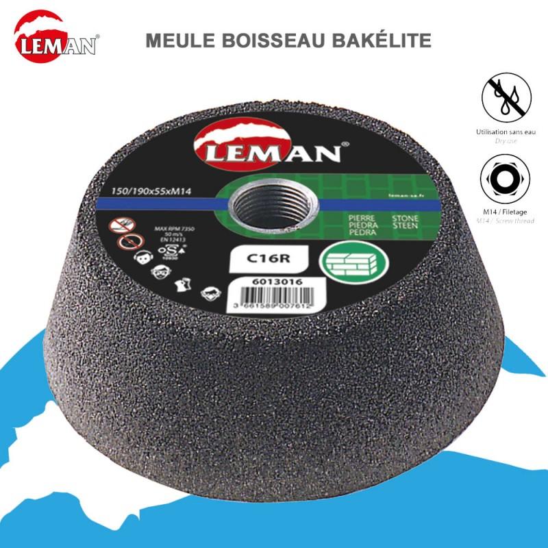 Meule boisseau bakélite (Lot de 5 pces)