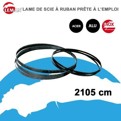 Lame scie à ruban acier-alu-inox - Bi-métal M42 - 2105 cm