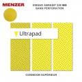 Disque abrasif mural 225 mm Ultrapad lot de 25 pièces