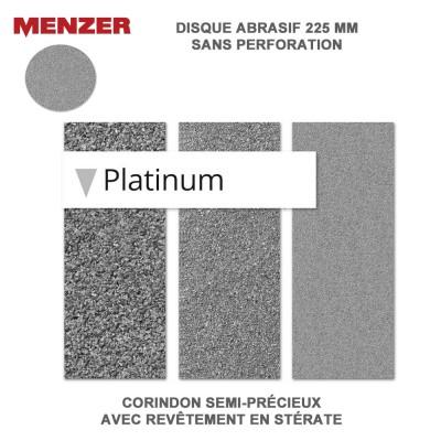 Disque abrasif  225 mm Platinium 5 ou 25 pièces
