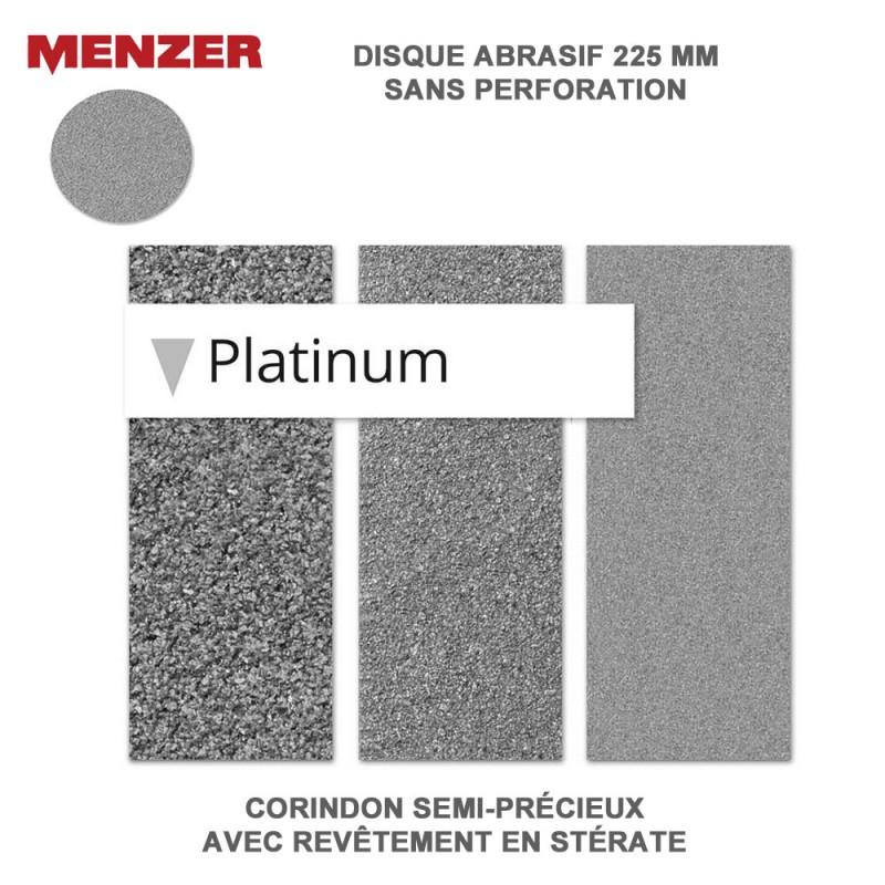 disque abrasif 225 mm platinium 5 ou 25 pi ces. Black Bedroom Furniture Sets. Home Design Ideas