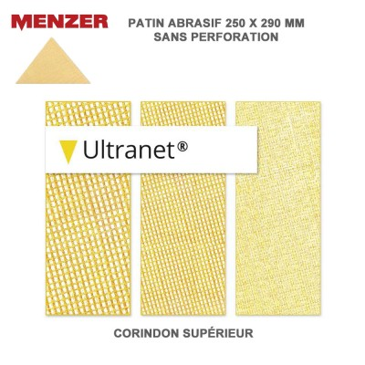 Patin abrasif 250X290 mm Ultranet 5 ou 25 pièces