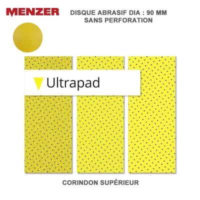 Disque abrasif 90 mm Ultrapad 25 pièces