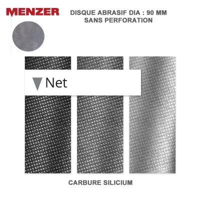 Disque abrasif  90 mm Net 25 pièces