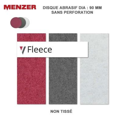 Disque abrasif  90 mm Fleece 10 pièces