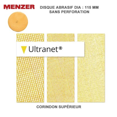 Disque abrasif 115 mm Ultranet 25 pièces